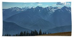 Hurricane Ridge Hand Towel
