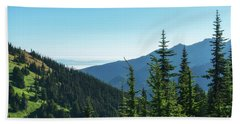 Hurricane Ridge View Bath Towel