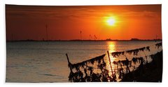 Husum Sunset Hand Towel