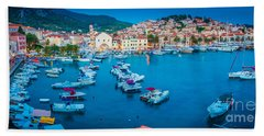 Hvar Photographs Hand Towels