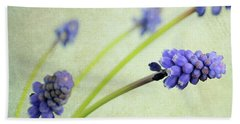 Hand Towel featuring the photograph Hyacinth Grape by Lyn Randle
