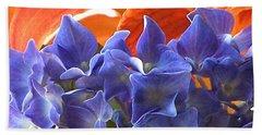 Hyacinth With Flames Bath Towel