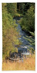 Hyalite Creek Overlook Bath Towel