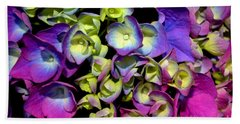 Hand Towel featuring the photograph Hydrangea by Vivian Krug Cotton