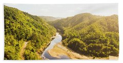 Hydropower Valley River Hand Towel