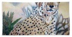 I Am Cheetah 2 Hand Towel