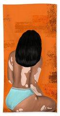 Bath Towel featuring the digital art I Am Enough by Bria Elyce
