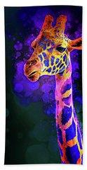 I Dreamt A Giraffe Bath Towel