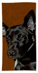 I Hear Ya - Dog Painting Hand Towel
