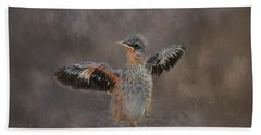 I Know I Can Fly Hand Towel