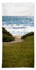 I Will Follow - Ocean Photography Bath Towel