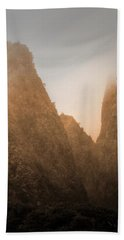 Iao Needle In Sepia Bath Towel