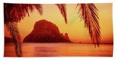 Ibiza Sunset Hand Towel