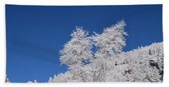 Ice Crystals Ute Pass Cos Co Bath Towel