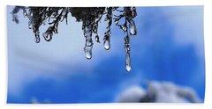 Ice Drops Bath Towel