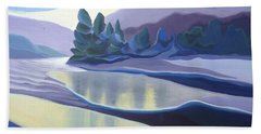 Ice Floes Hand Towel