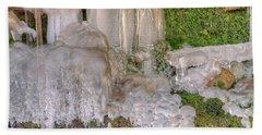 Ice Formations Bath Towel