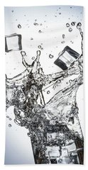 Ice Water Hand Towel by Brian Caldwell