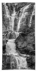 Icefields Waterfall Bath Towel