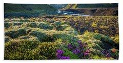Iceland Moss Hand Towel