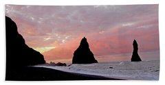 Iceland Sunrise Bath Towel
