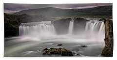 Iceland Waterfall Hand Towel