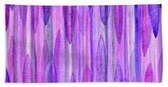 Icicles Hand Towel by Holly York