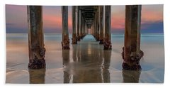 Scripps Pier Photographs Bath Towels