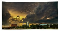 ict Storm - High Res Bath Towel