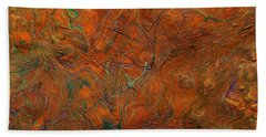 Icy Abstract 8 Hand Towel