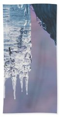 Icy Beauty Bath Towel by Ari Salmela
