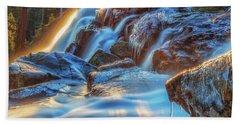 Icy Eagle Falls Hand Towel