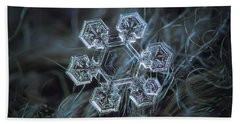 Hand Towel featuring the photograph Icy Jewel by Alexey Kljatov