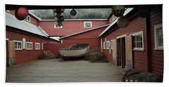Icy Strait Point Cannery Museum Bath Towel