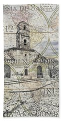 Iglesia De Santa Ana Passport Bath Towel