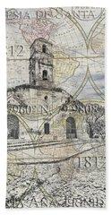 Iglesia De Santa Ana Passport Bath Towel