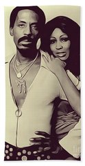 Ike And Tina Turner Hand Towels