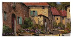Il Carretto Hand Towel by Guido Borelli