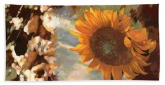 Il Girasole Hand Towel by Guido Borelli