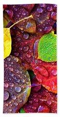 Illuminous Colour Hand Towel by Sheila Mcdonald