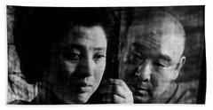 Illusion Of Blood Mariko Okada Hand Towel by Dan Twyman
