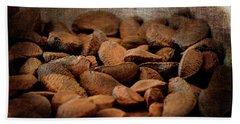Im Nuts For You Bath Towel by Lesa Fine