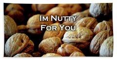 Im Nutty For You Card Bath Towel