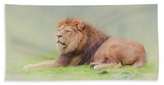I'm The King Bath Towel by Roy McPeak