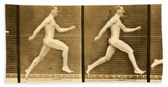 Image Sequence From Animal Locomotion Series Hand Towel