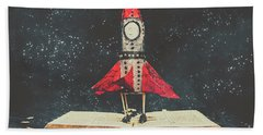 Imagination Is A Space Of Learning Fun Bath Towel