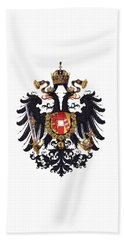 Imperial Coat Of Arms Of The Empire Of Austria-hungary 1815 Transparent Hand Towel