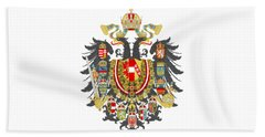 Imperial Coat Of Arms Of The Empire Of Austria-hungary Transparent Bath Towel