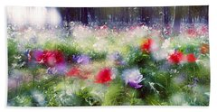 Impressionistic Photography At Meggido 2 Hand Towel