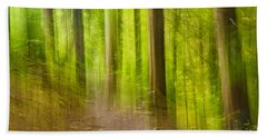 Impressions Of The Forest Hand Towel